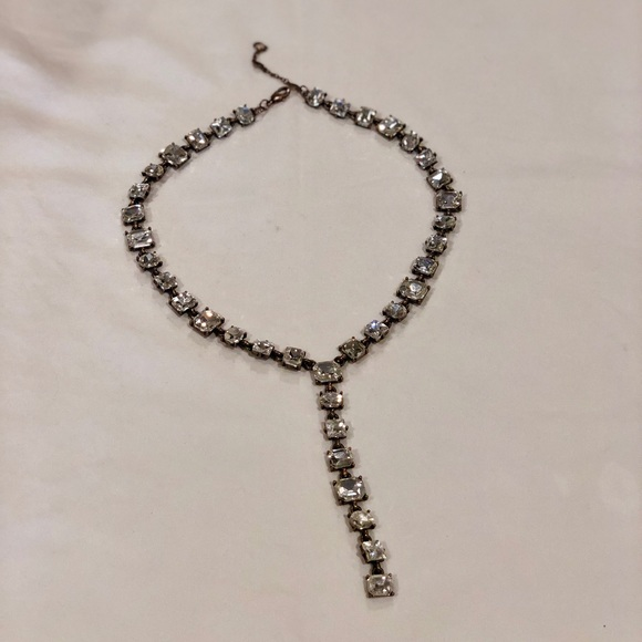 BaubleBar Jewelry - Bauble Bar crystal Y-chain necklace